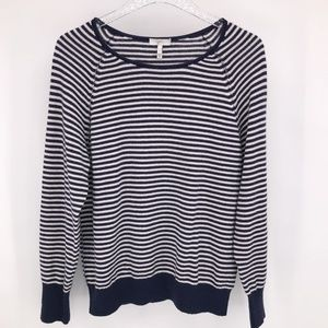 JOIE 'Tiana' Wool & Cashmere Striped Sweater